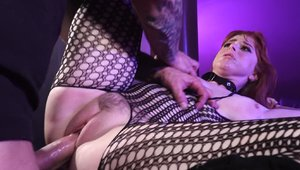 Big ass Penny Pax BDSM in body stocking