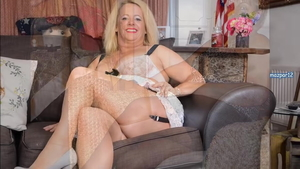 Lucy Gresty wearing pantyhose & Betsy Blue fucked all the way