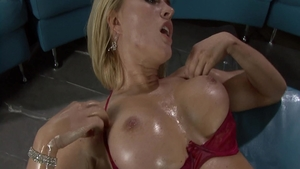 Sensual in company with Krissy Lynn nailed