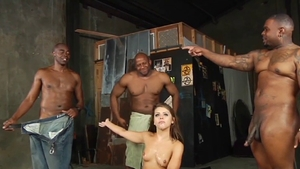Nailed rough with muscle babe Adriana Chechik in HD