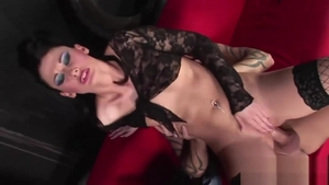 Lulu Martinez in sexy stockings getting smashed very nicely