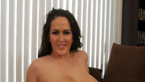 Plump brunette softcore gets plowed