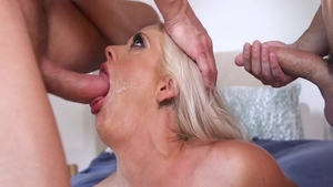 Busty hotwife Holly Heart feels the need for group sex