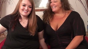 Hard nailining with desperate BBW Kate Faucett at casting