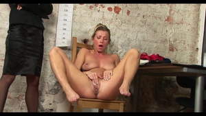 Sexy hungarian secretary Rita Rush craving humiliation HD