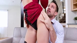 Thick Johnny Castle redhead pussy fucking scene
