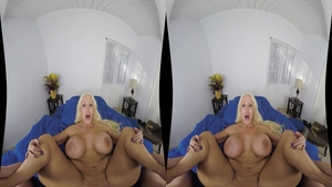 Fucked in the ass scene between big tits POV Alura Jenson