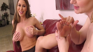 Young amateur Chloe Foster has a soft spot for plowing hard