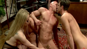 Hardcore sex together with big tits Chad White Aiden Starr