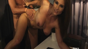 Hot in tandem with Preston Parker ass fucking