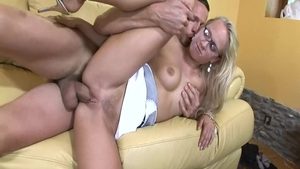 Very hot Carla Cox blonde pussy eating video