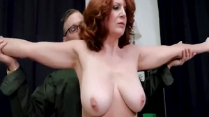 Deepthroat in the company of big tits MILF Cory Chase