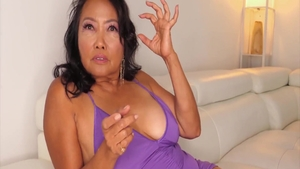 Hard pounding along with hottest asian MILF