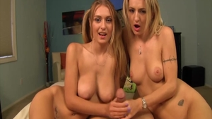Real sex together with Natasha Starr and Natalia Starr