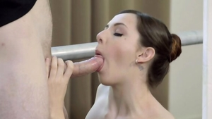 Very nice brunette wishes good fuck