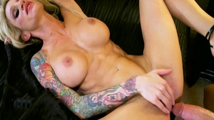 Nailed rough with sexy blonde Sarah Jessie