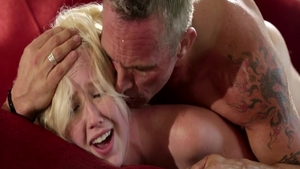 Skinny Samantha Rone with Markus Dupree rides a hard dick