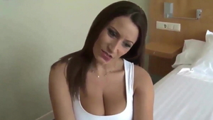 Sucking dick escorted by super hot german MILF