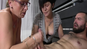 Lustful granny feels in need of sex