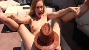 Lyra Law in POV hardcore fucked in the ass