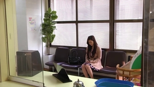 Cute japanese doctor Maria Ono wishes for rough bondage