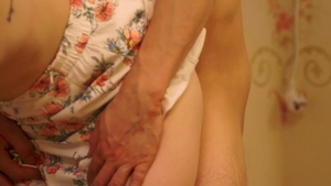 Good fucking accompanied by pregnant housewife