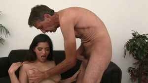 Teen chick feels the need for fetish gagging at the party HD