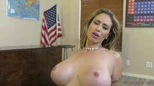 Pornstar Eva Notty wishes for taboo good fuck in office