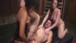 Rough nailing with filthy stepmom Daisy Ducati