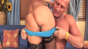 Very hot & big tits Cala Craves in sexy lingerie gets plowed