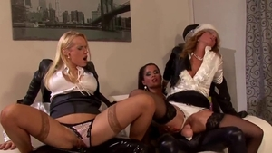 Ejaculation at the party