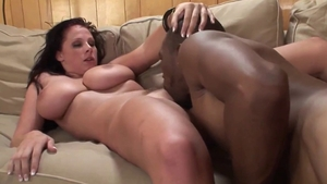 Big boobs brunette pussy eating