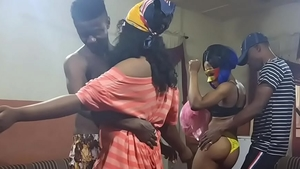 African twerk at the party