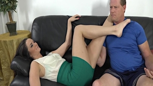 Very nice Bianca Breeze banging fucking on sofa