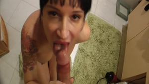 Nailed rough in the company of naughty mature Angie Noir