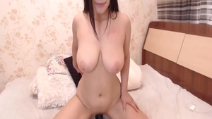 Squirts on live cam escorted by big tits amateur