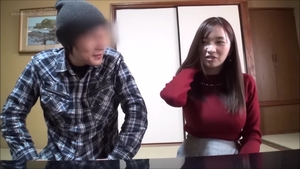 Huge tits japanese MILF ramming hard at the castings