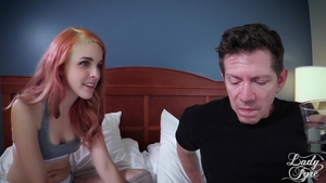 Teen chick Amarna Miller does what shes told in HD