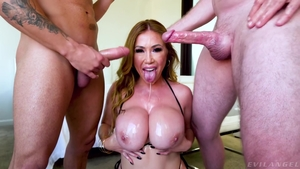 Big tits MILF wishes for the best sex in HD