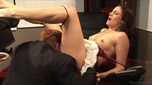 Hot brunette has a passion for the best sex