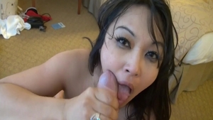 Perfect passionate chick Mika Tan romantic cumshot HD