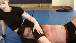 Wrestling in the company of erotic