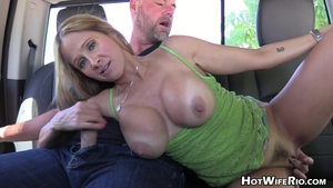 Hairy Hot Wife Rio wishes handjob