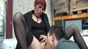 Experience hard slamming escorted by passionate french slut