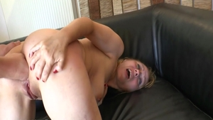 Charming french mature feels the need for loud sex in HD