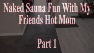 Hottest Cory Chase in sauna