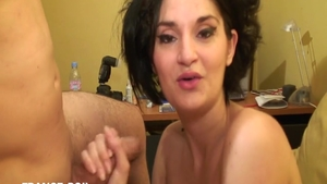 Real sex alongside passionate french babe