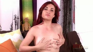 Female Kat Monroe playing with toys XXX HD