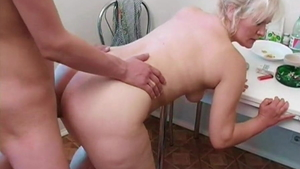 The best sex together with young russian blonde babe