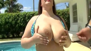 Big boobs brunette Madison Stone has a thing for hard sex HD